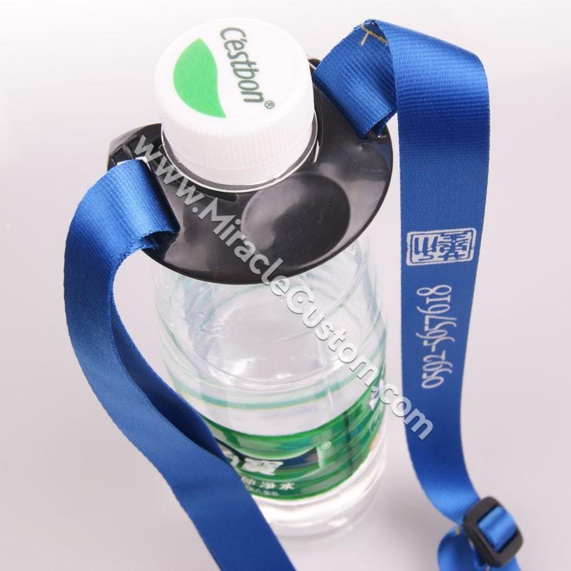 Printed Water Bottle Lanyards