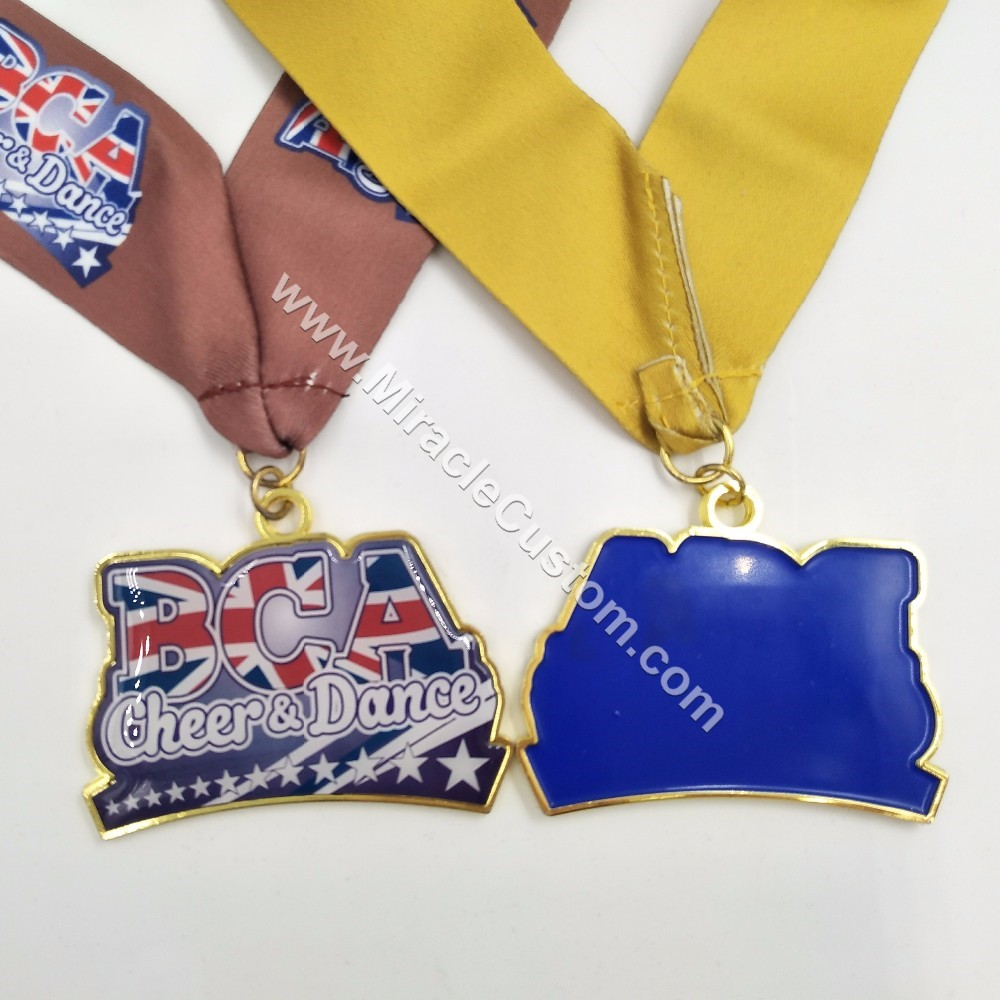 Personalized Cheer Medals