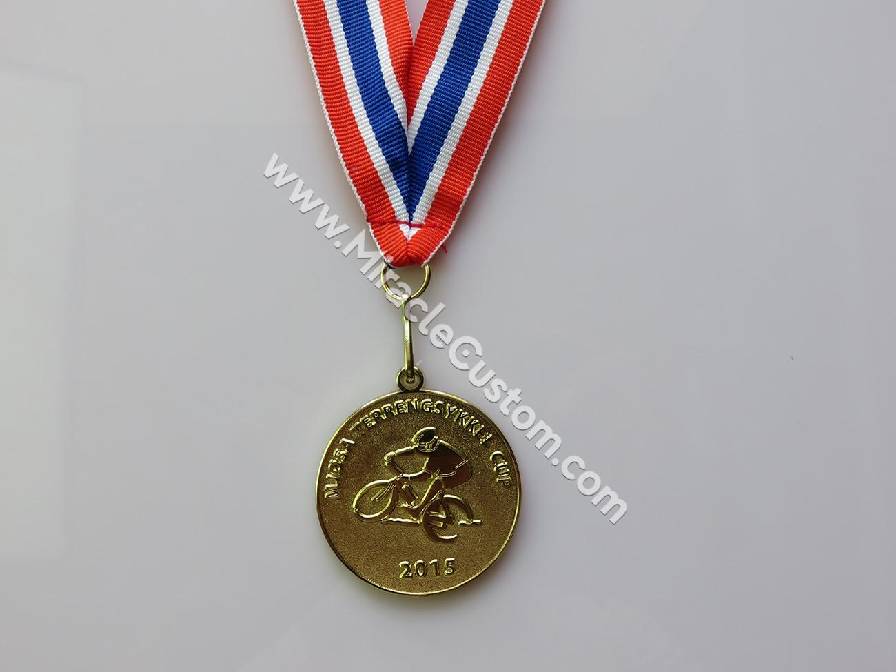 trail biking medal