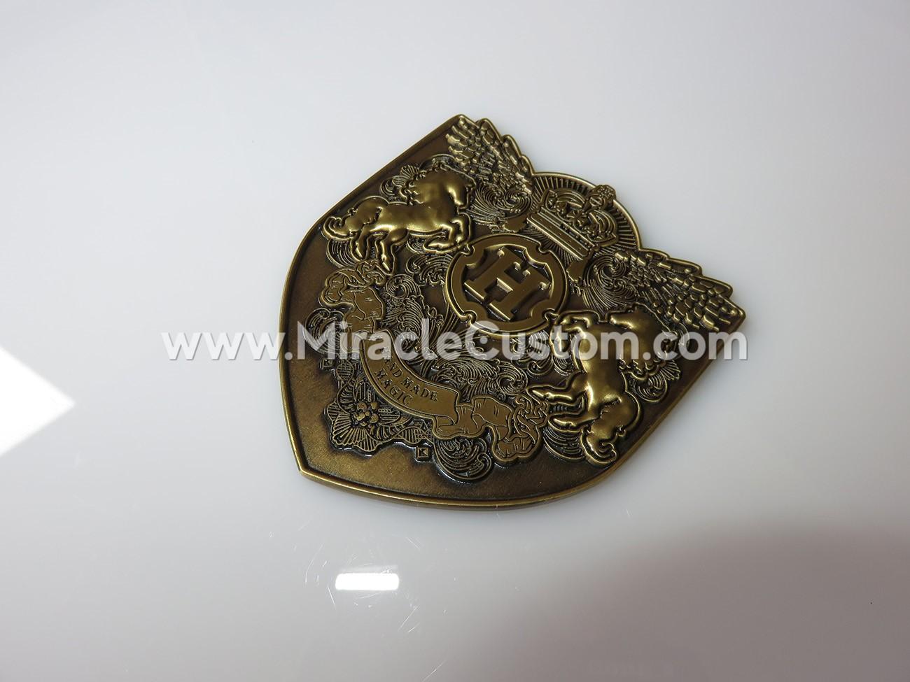 custom metal plaque