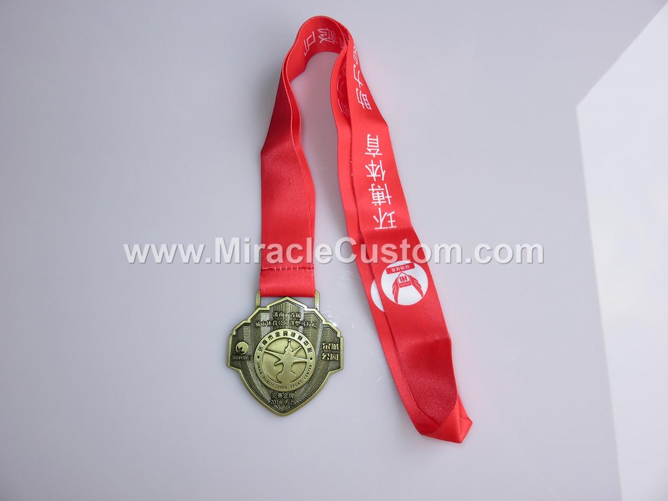 custom bronze medals
