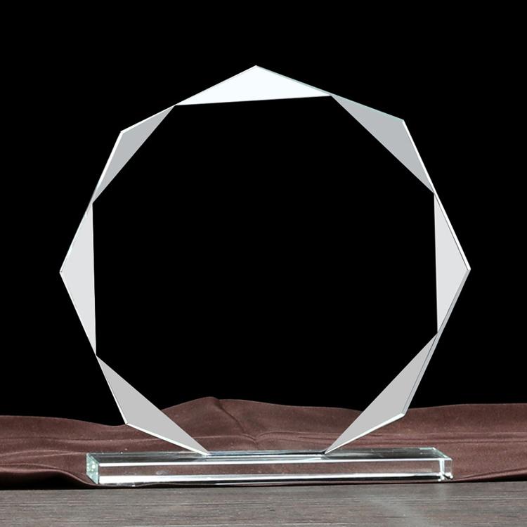 custom crystal trophies