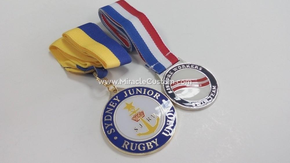custom epoxy medals