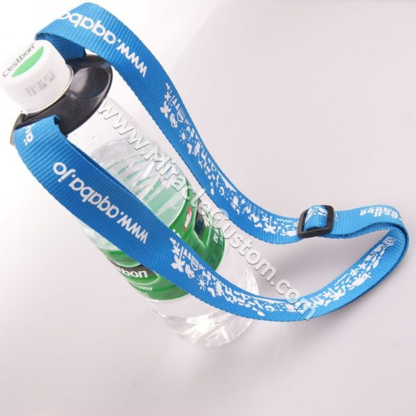 Printed Water Bottle Lanyards