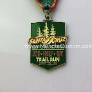 custom trail run medals