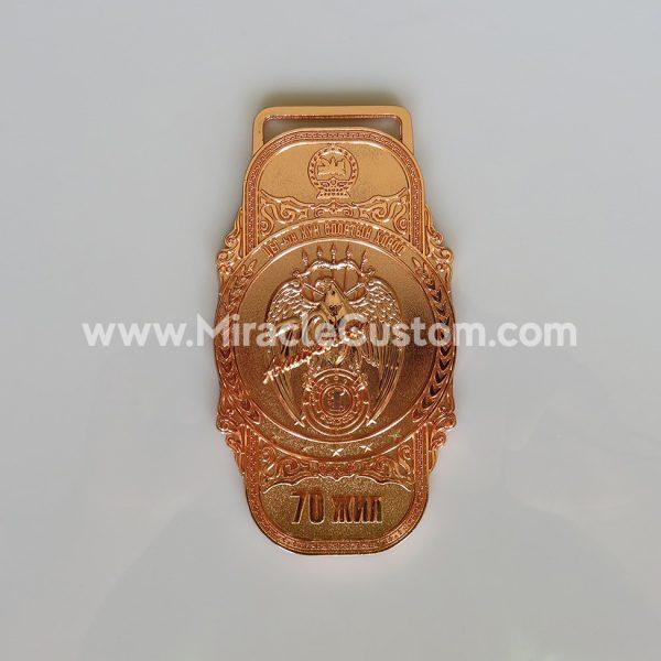 Custom Russian Medal