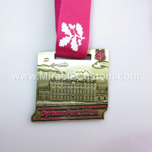 custom 10k race medals
