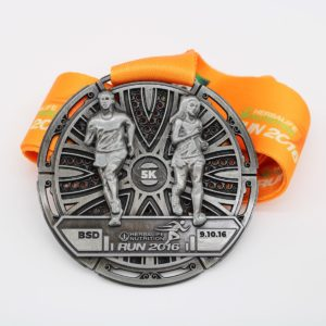 Custom Cut Out Race Medals