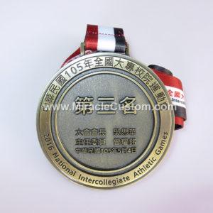 Athletics games medals