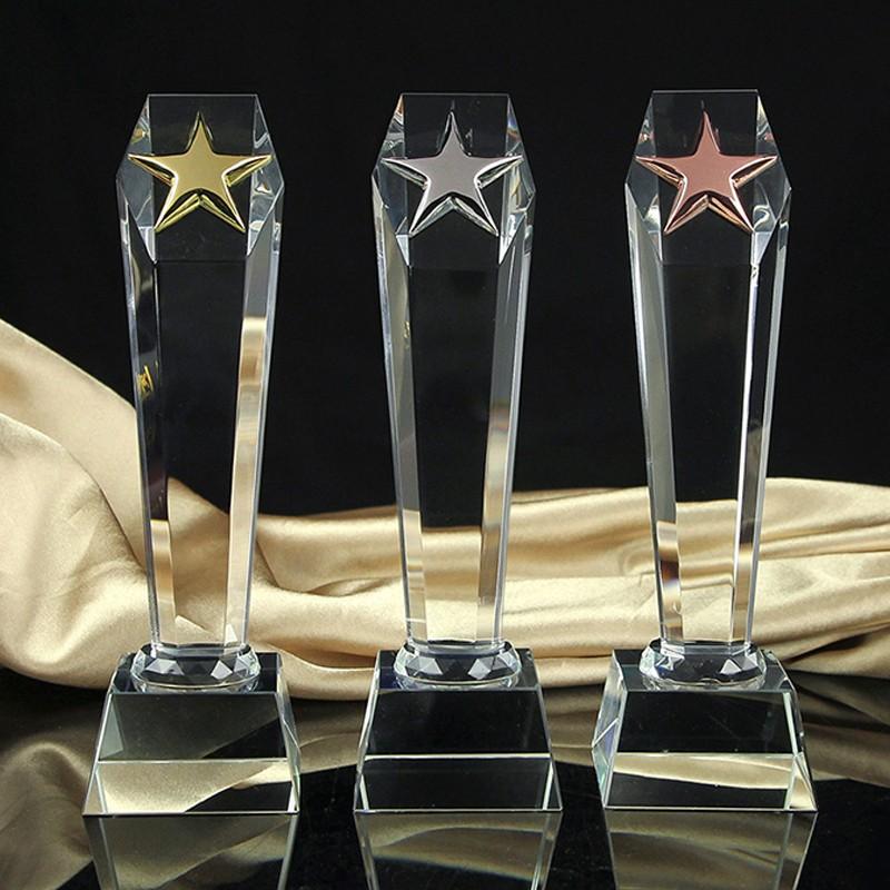 K9 Customized Crystal cheap custom trophies-miraclecustom com
