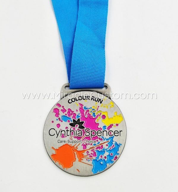 color run medals