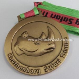 custom safari medals