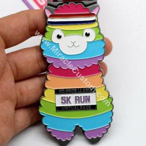 custom 5k run sports medals