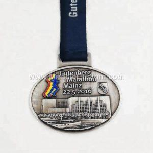 custom die cast marathon medals