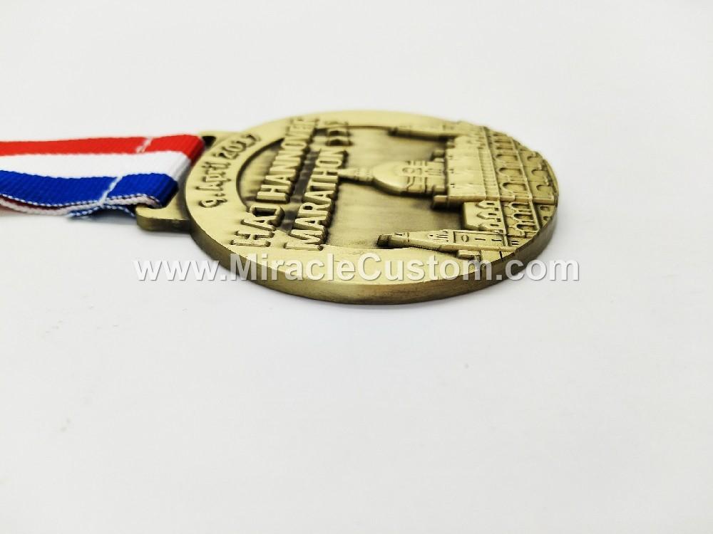 custom logo marathon medals
