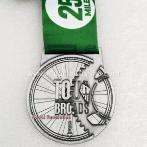 custom cycling sports medals