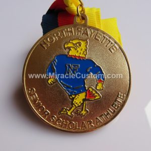 custom athletics medals
