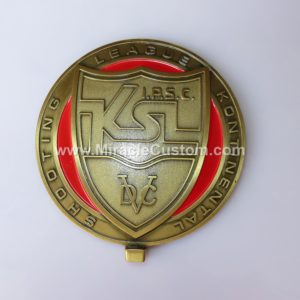 Shooting Sports Custom Medals