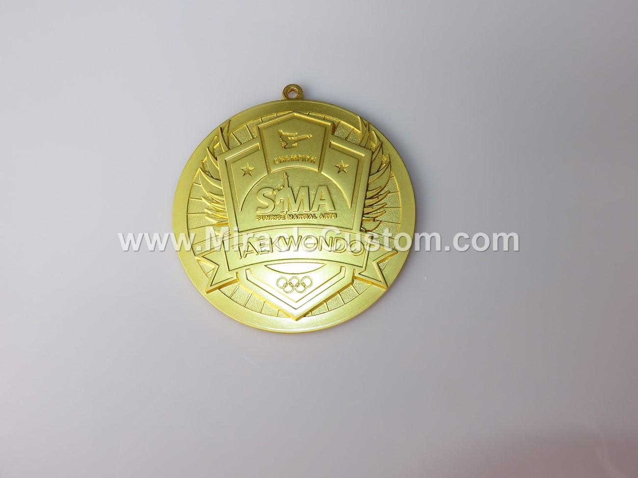 custom taekwondo sports medals