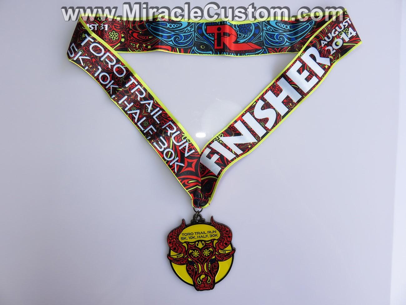 Custom Epoxy Marathon Medals