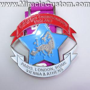 custom championship cast medals