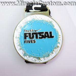 custom football championship medals