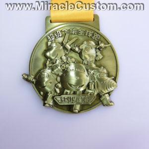 custom 3d antique medals