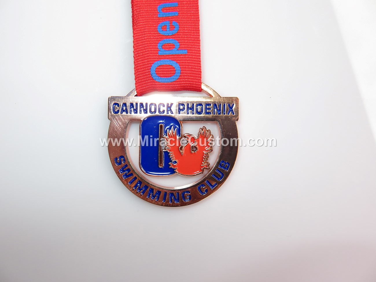 custom swimming club medals no minimum-www miraclecustom com