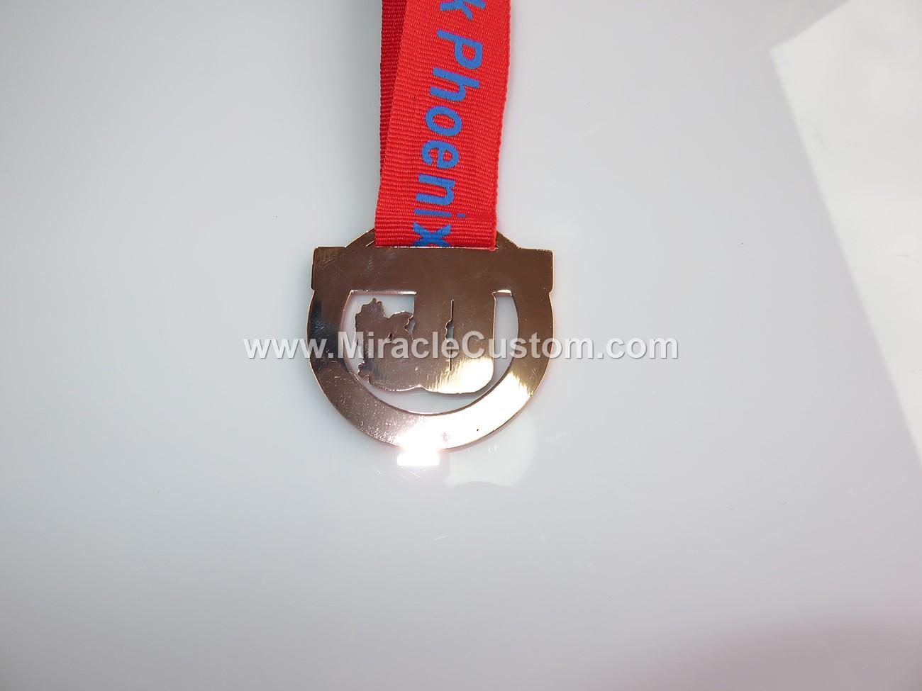custom swimming club medals