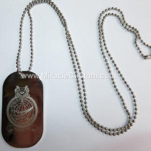 custom Laser Engraved Dog Tags