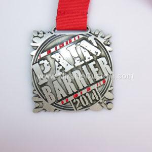 custom 10k mud race medals