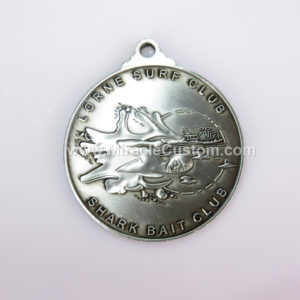 custom surf lifesaving medals