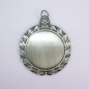 custom antique silver medals