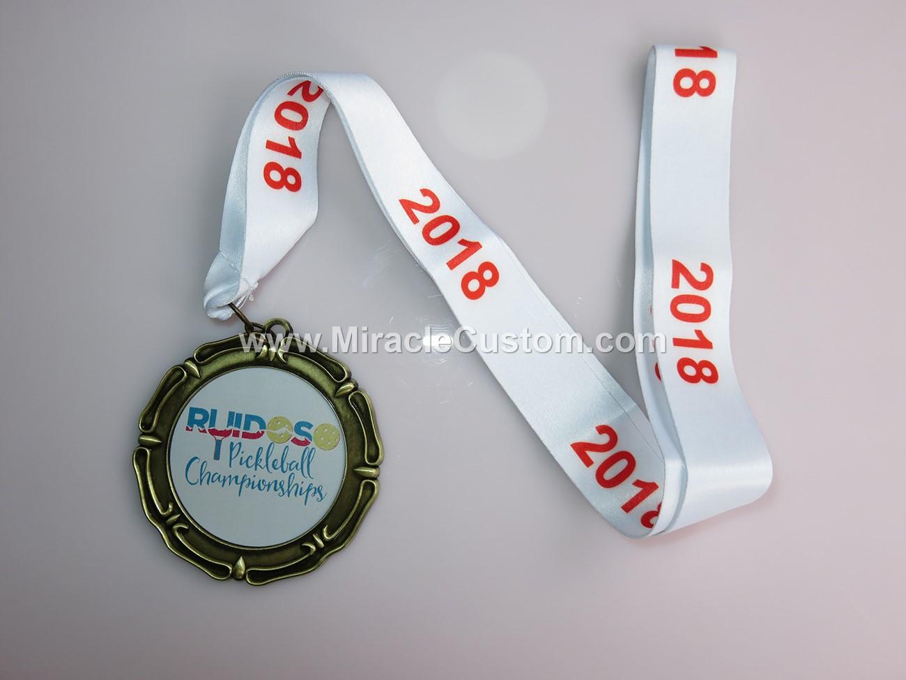 custom medal with uv print