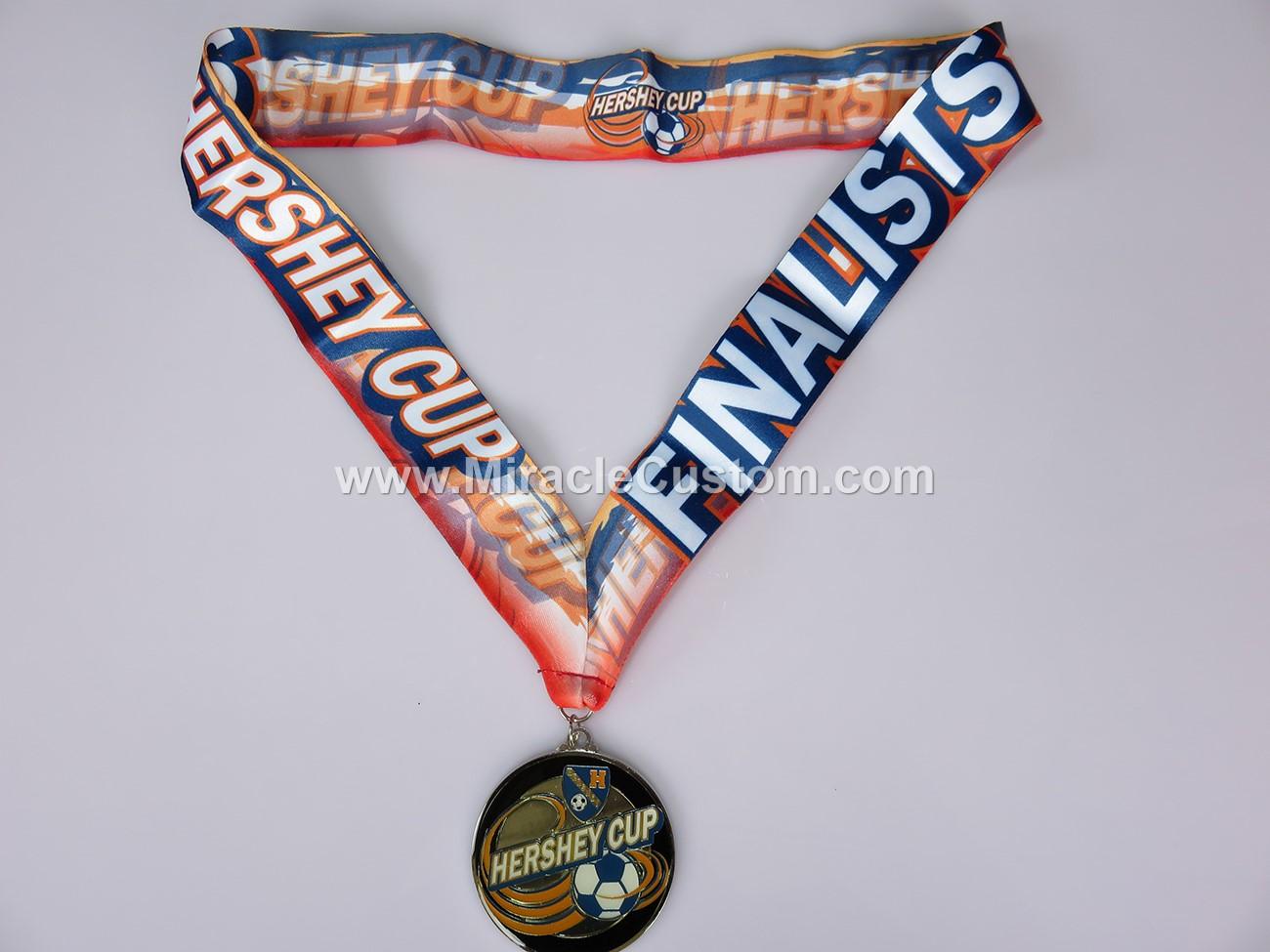 custom epoxy dome football medals