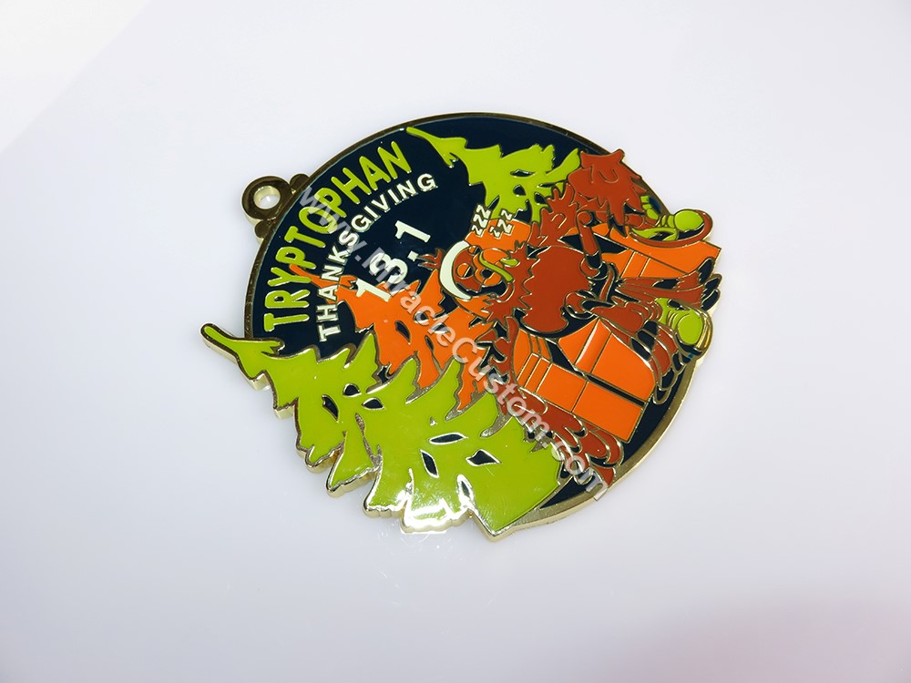 custom thanksgiving medals