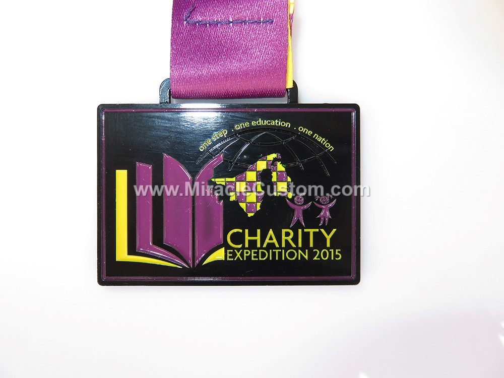 custom charity medals