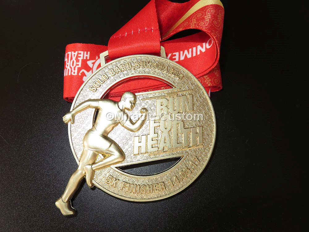 custom marathon running race medals cut outs medals