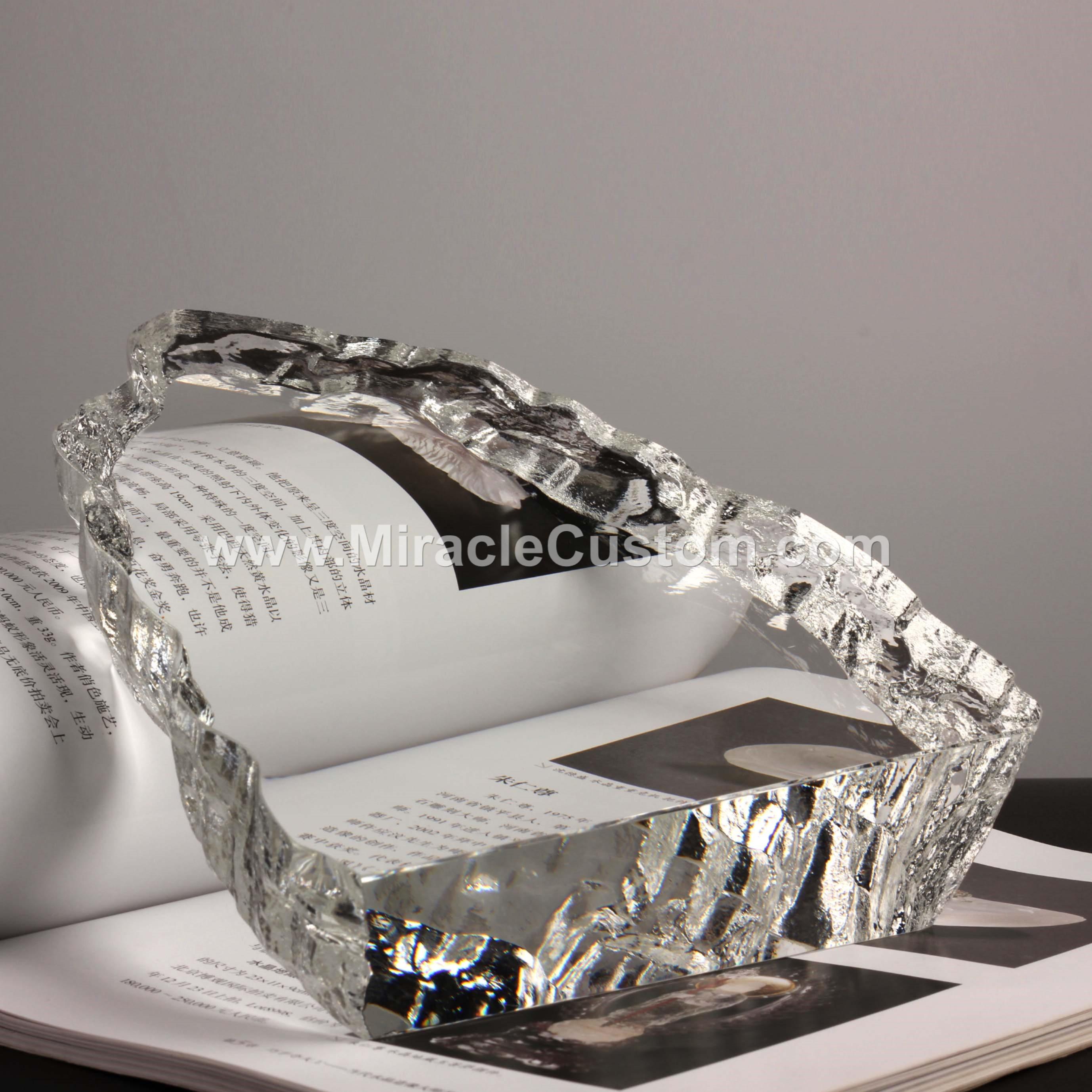bespoke crystal awards
