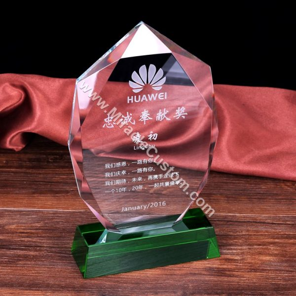 Custom unique awards trophies