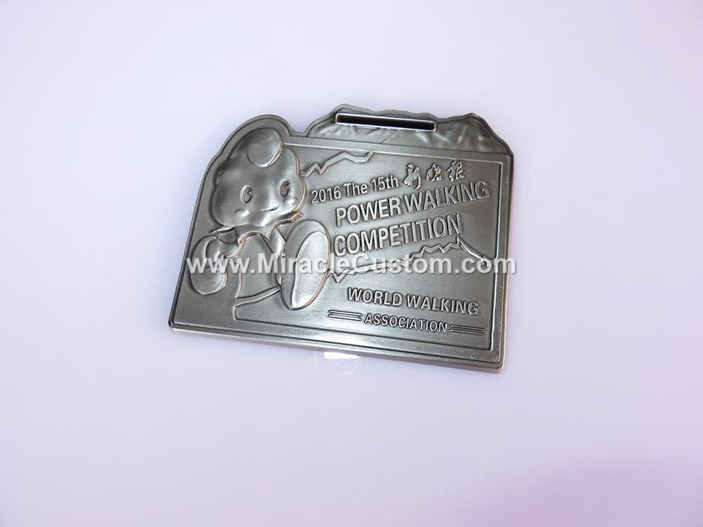 custom wallking medals