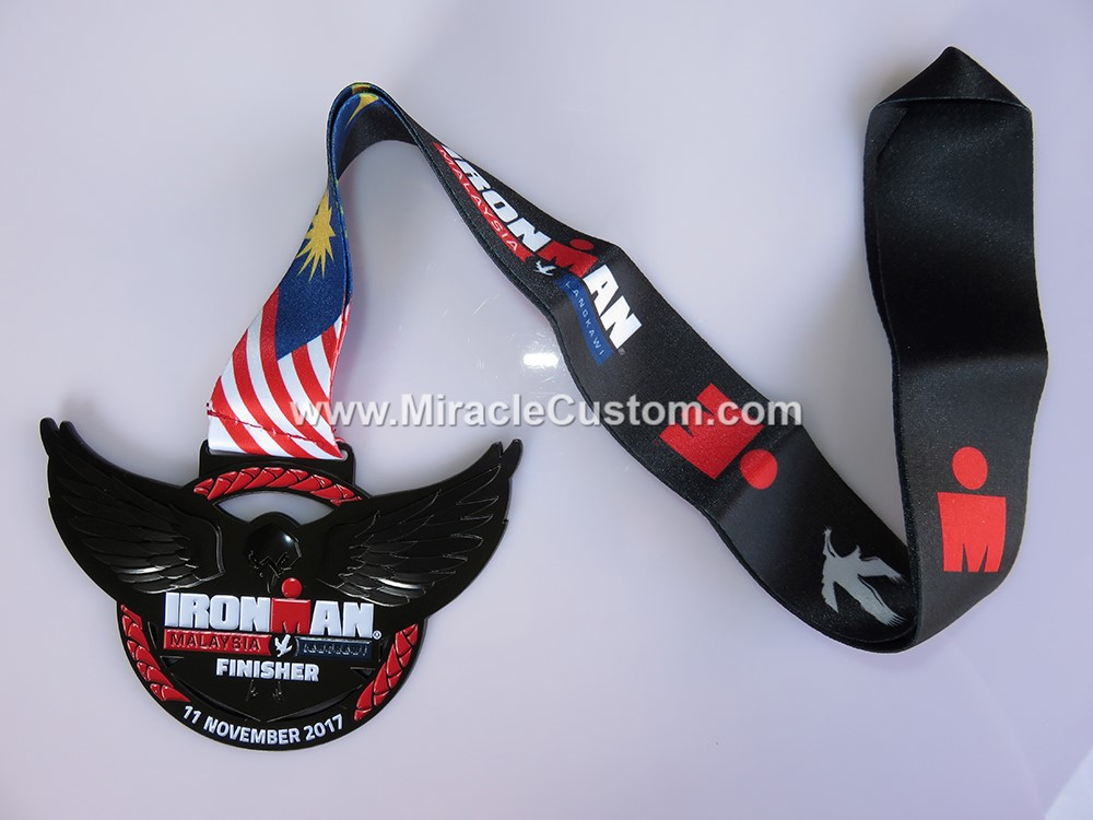 custom ironman marathon medals