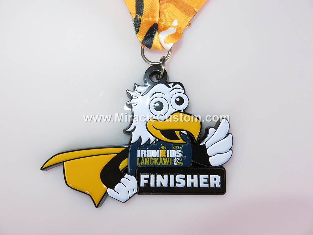 custom ironman finisher medals
