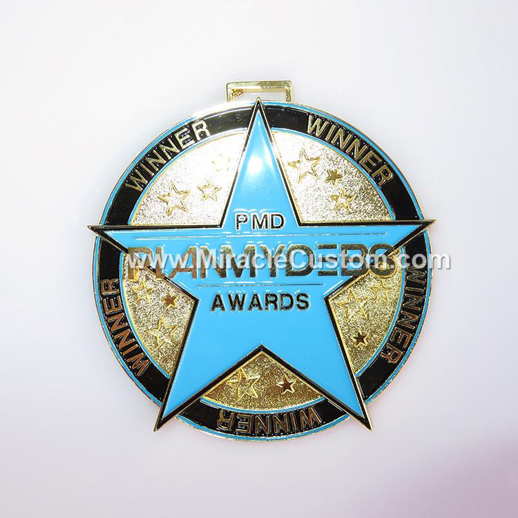 custom award medals no minimum-www miraclecustom com