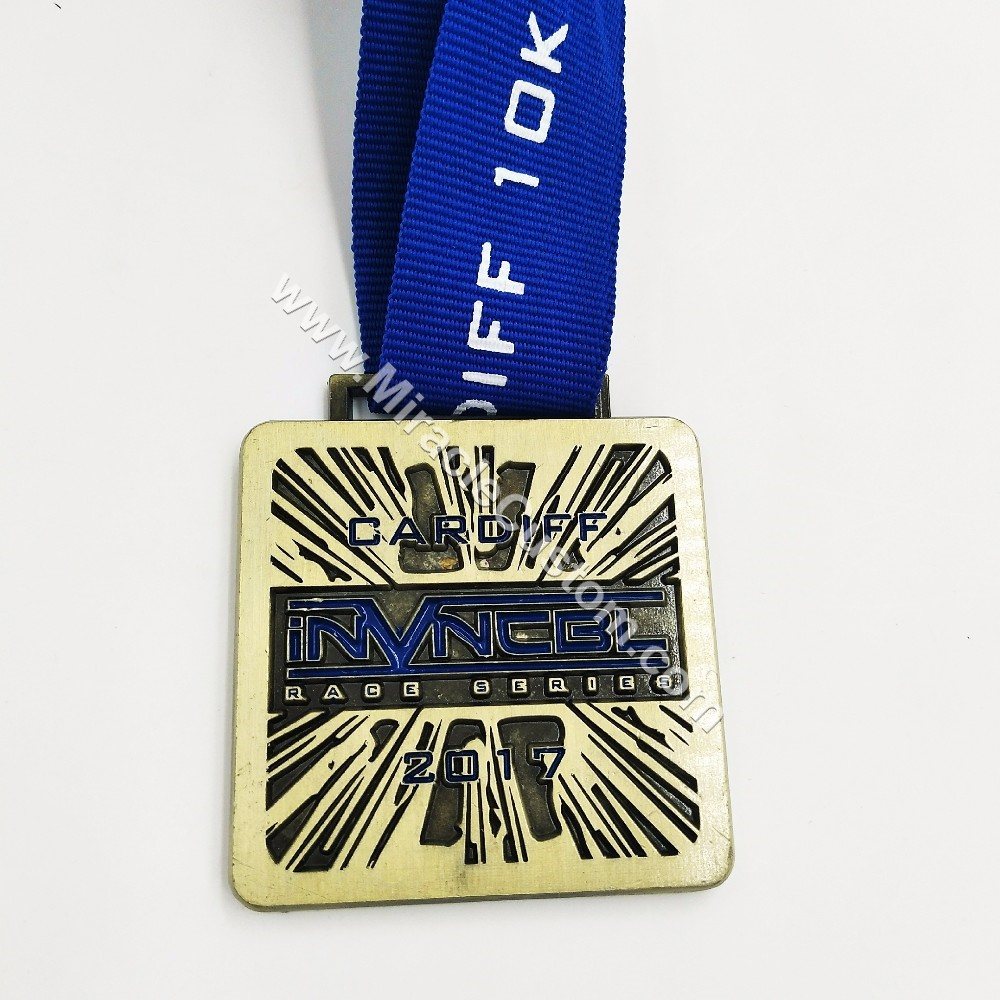 custom marathon race medal 5k
