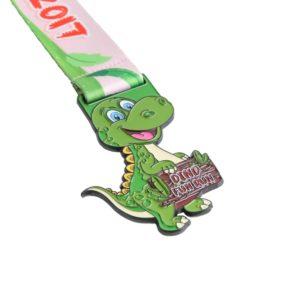 dino fun run medals