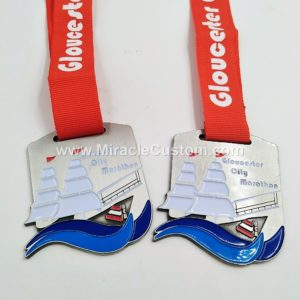 custom city marathon sports medals