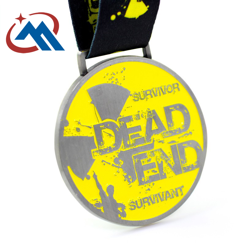 custom dead end survivant medals