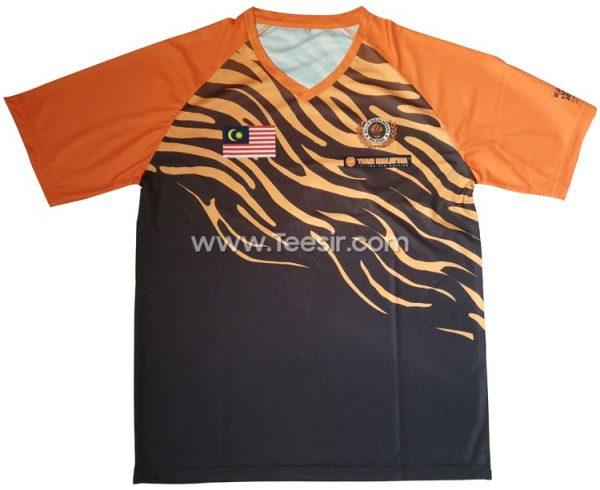 Custom Team Malaysia Sports Tshirts