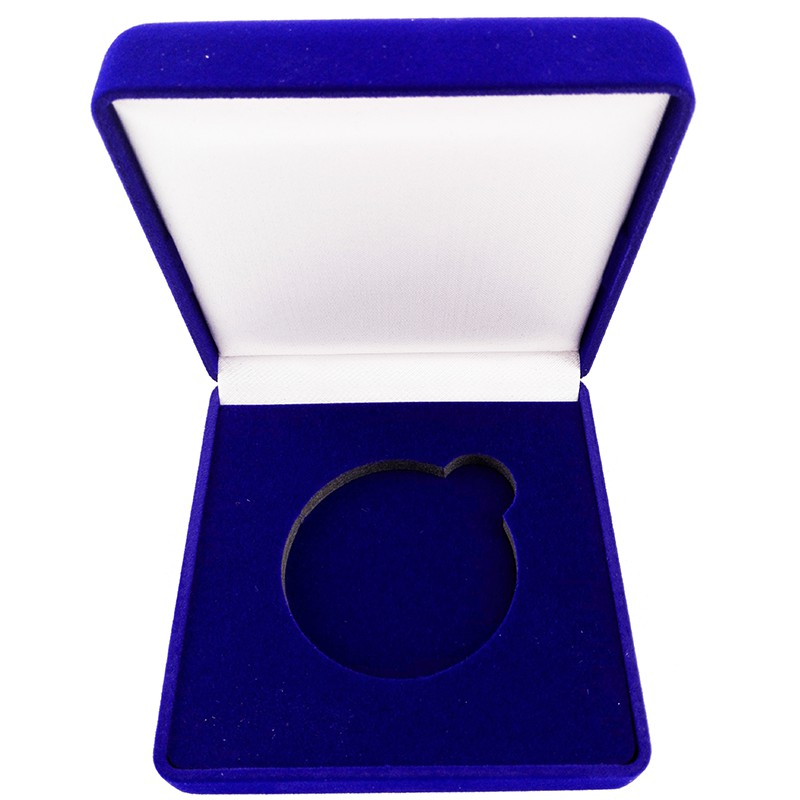 Custom Velvet box High quality jewelry gift box Medal box